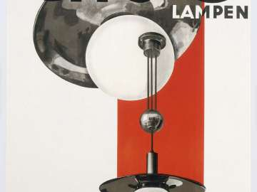 Giso Lampen (poster advertising Giso Lamps)