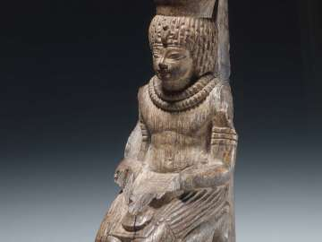 Kneeling Amenhotep III as the god Neferhotep