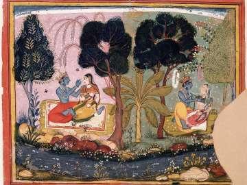 Krishna as Lover of Many