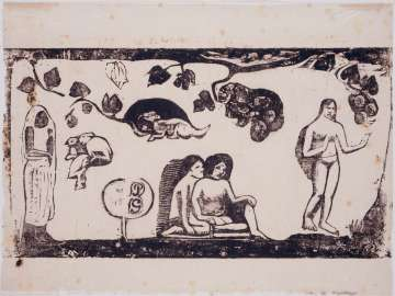Femmes, animaux et feuillages (Women, Animals and Foliage)