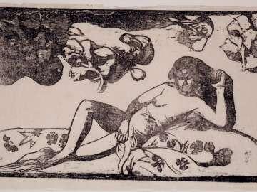 Te Arii Vahine (Opoi) [Woman with Mangoes (Tired)]
