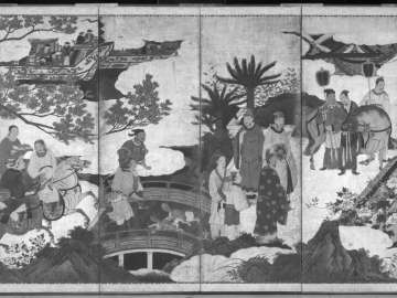 Gift Bearers at the Chinese Court