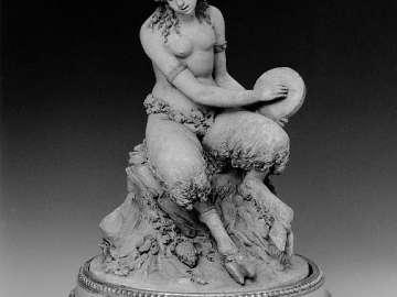 Seated Female Satyr