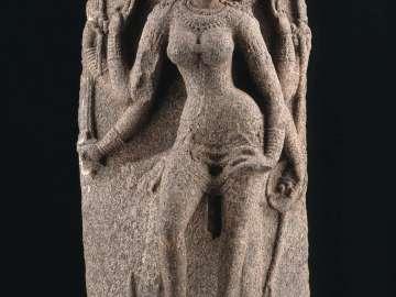 Durga as Mahishasuramardini (the Slayer of the Buffalo Demon)