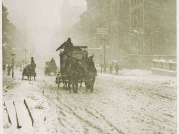 Winter, Fifth Avenue from the portfolio