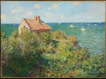 Fisherman's Cottage on the Cliffs at Varengeville