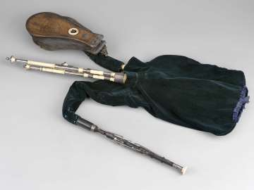 Bagpipe (Northumbrian pipes)