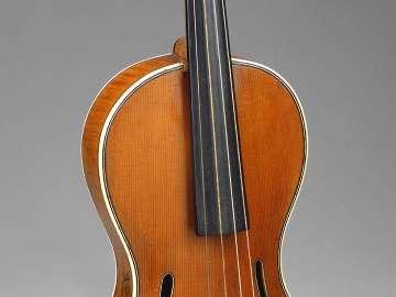 Guitar-shaped violin
