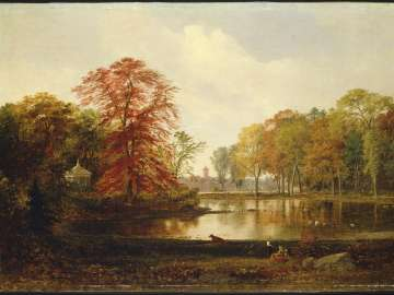 May's Pond, Roxbury, Massachusetts