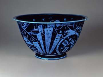 Punch bowl from the