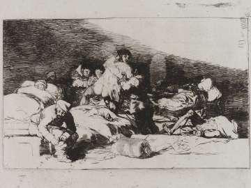 También estos. (These, too); Fatales consequencias de la sangrienta guerra en España con Buonaparte. Y otros caprichos enfaticos [Disasters of War], plate 25.