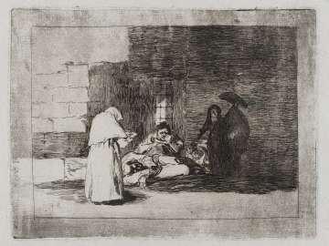 Caridad de una muger. (A woman's charity); Fatales consequencias de la sangrienta guerra en España con Buonaparte. Y otros caprichos enfaticos [Disasters of War], plate 49.