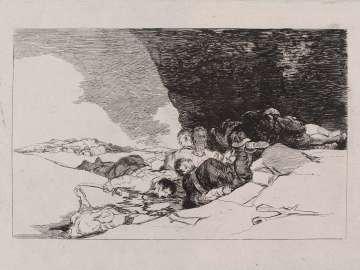 Lo mismo en otras partes. (The same elsewhere); Fatales consequencias de la sangrienta guerra en España con Buonaparte. Y otros caprichos enfaticos [Disasters of War], plate 23.