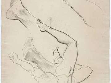 Sketch for Sphinx and Chimaera - Chimaera - (MFA Rotunda)