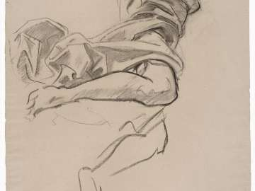 Sketch for Fame (MFA Rotunda)