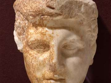 Head of Herakles (Alexander the Great?)