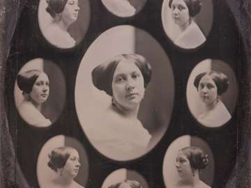Portrait of a Woman in Nine Oval Views