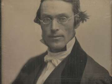 Man with Small Spectacles