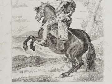 Don Gaspar de Guzmán, Count-Duke of Olivares, on Horseback