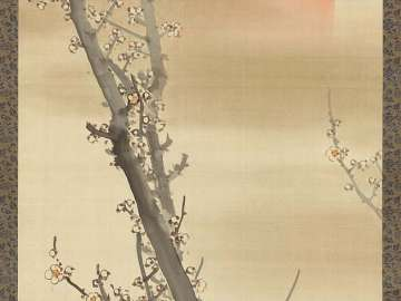 Plum Blossoms and Sun