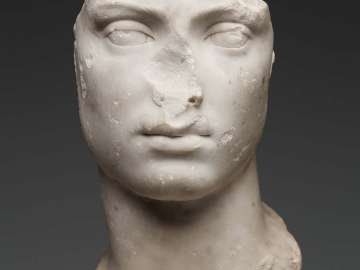 Head of a young man
