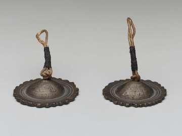 Pair of cymbals (kasat?)