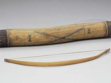 Fiddle (kízh kízh díhí) and bow