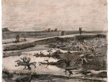 Landscape with Bog Trunks (Travaux aux Champs)