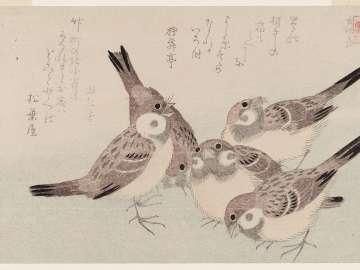 The Tongue-cut Sparrow (Shita-kiri suzume), from the series Assorted Storybook Prints (Akahon tsukushi)