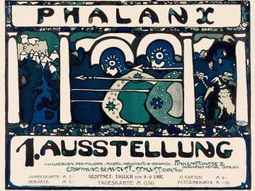 Poster for First Phalanx Exhibition