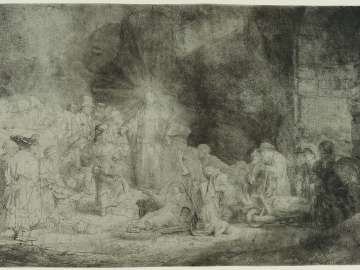 Christ Preaching (The Hundred Guilder Print)