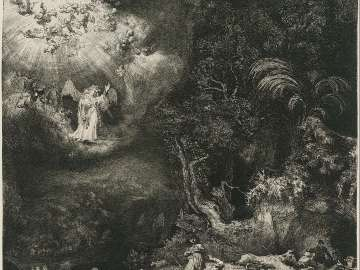 The Angel Appearing to the Shepherds