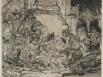 The Adoration of the Shepherds: With the Lamp