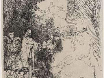 The Raising of Lazarus: Small Plate