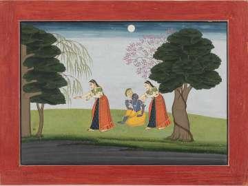 Krishna Vanishes from His Favorite