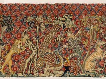 Tapestry:  Wild Men and Moors