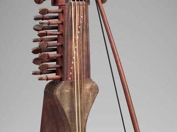 Fiddle (sarangi) and bow