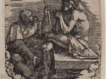 Man of Sorrows, Mocked by a Soldier (Large Passion)