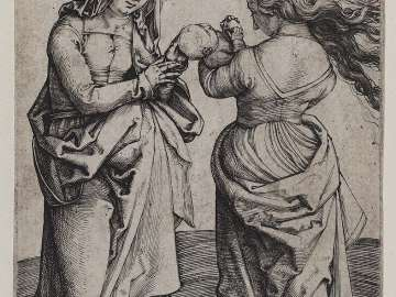 The Virgin Mary with the Infant Jesus and Saint Ann