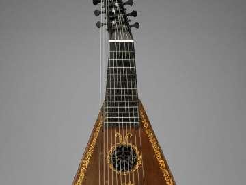 Harp-lute-guitar