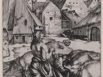 The Prodigal Son amid the Swine