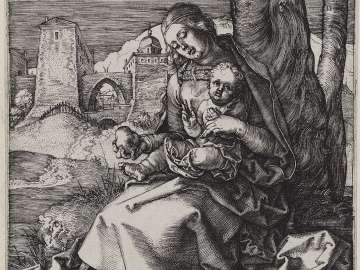 The Madonna with the Pear