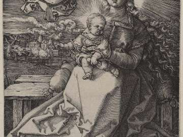 Madonna Crowned by an Angel