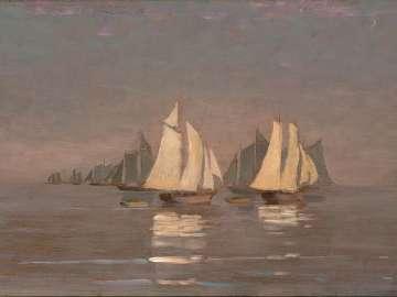Gloucester Mackerel Fleet at Dawn