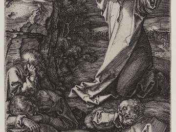 Agony in the Garden (Engraved Passion)
