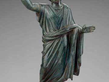 Statuette of a paternal deity, possibly Jupiter