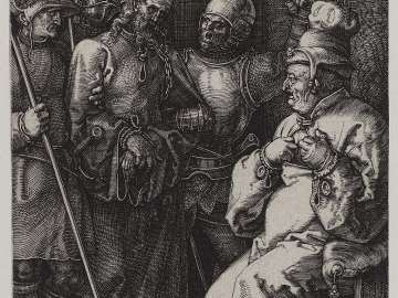 Christ before Caiaphas (Engraved Passion)