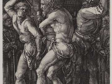 Flagellation of Christ (Engraved Passion)