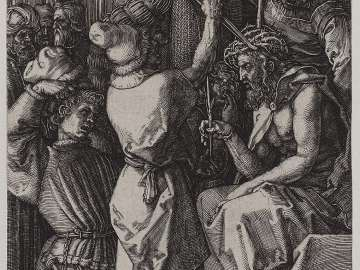 Christ Crowned with Thorns (Engraved Passion)