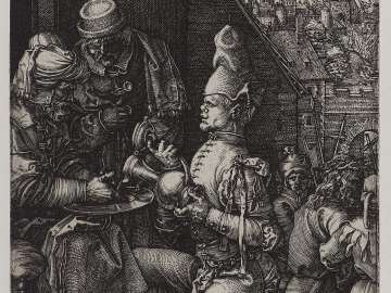 Pilate Washing His Hands (Engraved Passion)